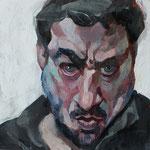 Pavel Feinstein: *N 1851*, 2014, Tempera/Hartfaser, 30 x 30 cm