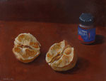 Pavel Feinstein: *N 1970*, 2014, Tempera/Hartfaser, 30 x 40 cm
