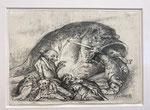 Yongbo Zhao: *Ohne Titel*, 2015, Bleistift/Papier, 21 x 29,5 cm