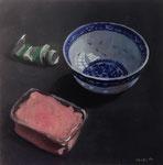 Pavel Feinstein: *N 1966*, 2014, Tempera/Hartfaser, 30 x 30 cm