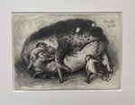 Yongbo Zhao: *Ohne Titel*, 2016, Bleistift/Papier, 21 x 29,5 cm