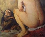 Yongbo Zhao: *Admiration*, 2010, Öl/Leinwand, 100 x 120 cm