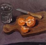 Pavel Feinstein: *N 1839*, 2014, Tempera/Hartfaser, 30 x 30 cm