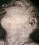 Heike Ruschmeyer: *Mein kleiner Bruder II*, 2003, Öl/Hartfaser, 70 x 50 cm