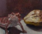 Pavel Feinstein: *N 1815*, 2013, Tempera/Hartfaser, 24 x 30 cm