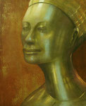 Klaus Ritterbusch: *Aquitanien 2*, 2008, Öl/Aluminium, 74 x 60,5 cm