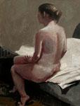 Pavel Feinstein: *N 1702*, 2013, Tempera/Hartfaser, 40 x 30 cm