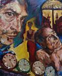 Bettina Moras: *Roma in memoria*, 2010, Öl/Leinwand, 80 x 65 cm