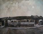 Yongbo Zhao: *Mein Haus*, vor 1991, Öl/Leinwand