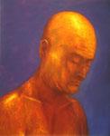 Klaus Ritterbusch: *Selbst*, 2004, Öl/Aluminium, 74 x 60,5 cm