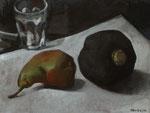 Pavel Feinstein: *N 1943*, 2014, Tempera/Hartfaser, 30 x 40 cm