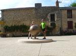 Fontaine à vin - St Aubin sur Layon