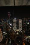 Panorama vom Oriental Pearl Tower aus