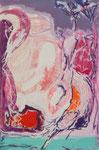 Steph Hardy: o.T., 2011, Mischtechnik auf MDF