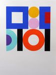 squares&circles n°6, 2018, 31 x 41 cm, Vinyl auf Bütten