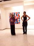 Ellen Roß und Steph Hardy, Eröffnungsabend + konkret + colour field + hard edge + n°6