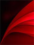 Aufgeblättert und rot. Bildformat 3:2
