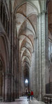 Cathédrale de Bourges. Bildformat: 1:3