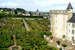 VILLANDRY  - Jardins et village
