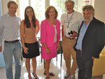 Drs. Lorenz Studer, Naira Rezende, Lorraine Gudas, Robert Benezra, Steve Gross