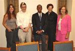Drs. BJ Casey, Francis Lee, Sebastian Shaffer, Betsy Ross, Lorraine Gudas