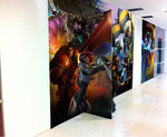 Wallpaper design for Garena