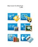 Icon design for brochure