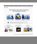 Webpage design for EON portal