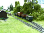 Blick über das Gleisfeld