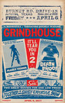 Grindhouse Movie Poster 2007, Quentin Tarantino & Robert Rodriquez