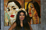 Lisette Solis, Model, at Corazon de Los Angeles Gallery Reception, Downtown Los Angeles, California  USA