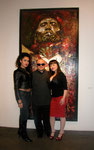 Veronica Loren and Maria Kane, San Antonio, Texas Models, at George Yepes Exhibit Reception, Bergamot Station Arts Complex, Santa Monica, California  USA