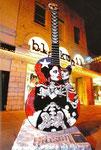 La Pistola y El Corazon Guitar: Front view, Austin Guitars, Austin, Texas, USA