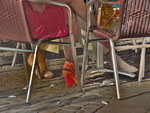 ©Trash/Treasure, 'under the table', pigment print