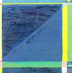 Dark Water, 2005. 24 x 24 in. Oil paint on birch. $700 #05PA127L