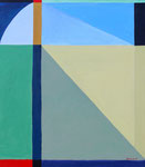 Window View, 2007. 24 x 36 in. Acrylic paint on canvas. $1,200 #07PA129L