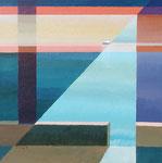 Martha's Vineyard Islander, 2006. 40 x 40 in. Acrylic paint on birch. $1,400 #06PA124L