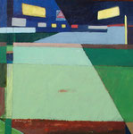 Center Field, 2006. 24 x 24 in. Acrylic paint on birch. $800 #06PA123L