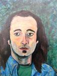 John Landry, 1982. 18 x 24 in. Oil paint on MDF. #82PA069P