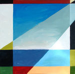 Beach View, 2008. 30 x 30 in. Acrylic paint on canvas. $800 #08PA126L