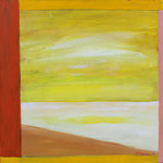 Yellow Sky, 2011. 30 x 30 in. Acrylic paint on canvas. $700 #11PA130L