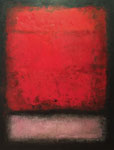 BLACK, RED AND PINK Nº6 - Oil on canvas - 116x89cm - 2016