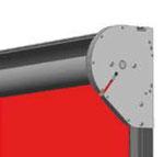 PVC-Schnellauftor ohne Ballenverkleidung