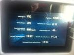 Daten während des Flugs :)