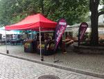 """Promotion-Aktion mit PENTA-Events in Freiburg zur Eröffnung des """"Sauselitos"""""""