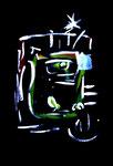 """Serie von 6 Arbeiten: """"Enge 6"""" / WVZ 1.904 / datiert Boddin, 13.02.99 / diverse Farben auf farbigem Papier / Maße jeweils b 29,7 cm * h 42,0 cm"""
