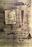 """""""Erzitternde blaßgelbe Bio-Tonne"""" Espelkamp, den 16.12.1993, Werkverzeichnis 384 Technik siehe Anfang, b 29,7 cm * 42,0 cm"""