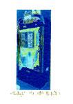 """""""Lucky 6"""" / Werkverzeichnis 2.249 / datiert 08.99 / Fotoveränderung von Spielautomaten als Tintenstrahldruck auf Papier / b 10,5 cm * h 15,0 cm"""