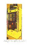 """""""Lucky 9"""" / Werkverzeichnis 2.252 / datiert 08.99 / Fotoveränderung von Spielautomaten als Tintenstrahldruck auf Papier / b 10,5 cm * h 15,0 cm"""