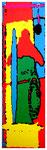 """""""Kokade VIII"""" / Werkverzeichnis 2.226 / datiert 24.07.99 / Fotoveränderung von Öfen als Tintenstrahldruck auf Papier / Maße b 42,0 cm * h 59,4 cm"""